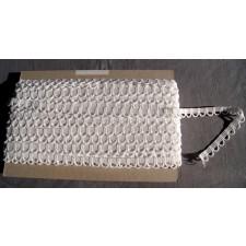 Bild 1 Corsagenband Weiß 15 mm breit