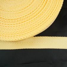Bild 1 Gurtband Taschengurt Gelb 20 mm breit