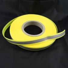 Bild 1 Reflektorband Leuchtband Silber/Gelb 20 mm breit