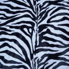 Bild 1 Fellimitat Zebra