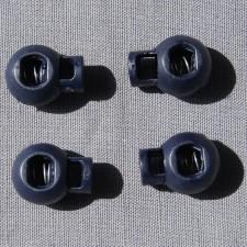 Bild 1 Kordelstopper Dunkelblau