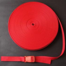 Gurtband Taschengurt Rot 25 mm breit