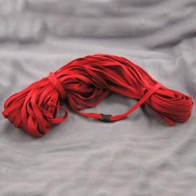 Gurtband Taschengurt Rot 10 mm breit
