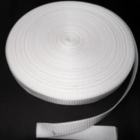 Gurtband Taschengurt Weiß 25 mm breit