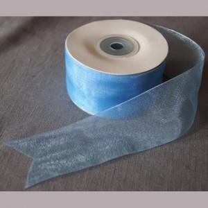 Bild 1 Organzaband Hellblau 40 mm breit