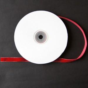 Bild 1 Samtborte Weinrot 9 mm breit