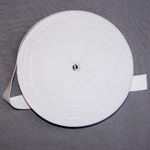 Bild 1 Gummiband Weiß 25 mm breit