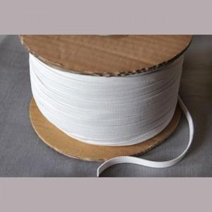 Bild 1 Gummiband Weiß 8 mm breit