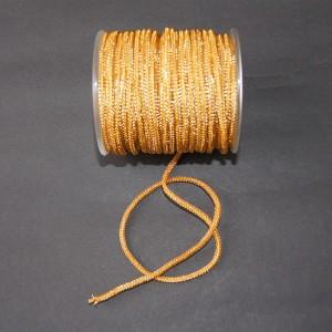 Bild 1 Lurexborte Gold 3 mm breit