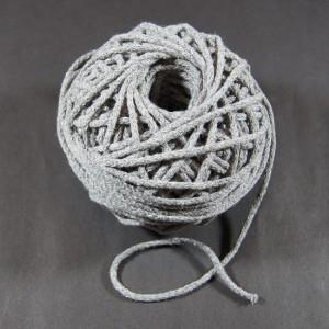 Bild 1 Kordel Baumwolle Grau 3 mm