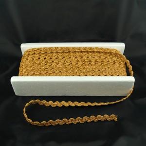 Bild 1 Posamentenborte Gold glitzernd 12 mm breit