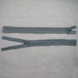 Bild 1 Reißverschluss nahtverdeckt 25 cm lang Dunkelgrau