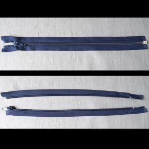Bild 1 Reißverschluss 30 cm lang Dunkelblau