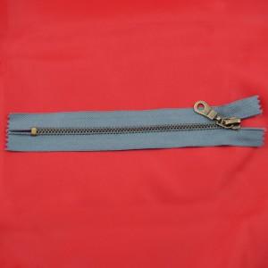 Bild 1 Reißverschluss 16 cm lang Grau