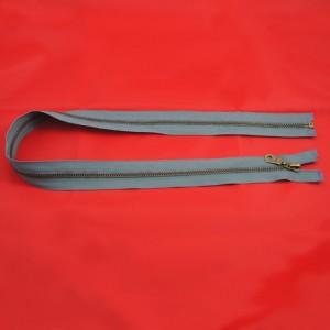 Bild 1 Reißverschluss 70 cm lang Grau