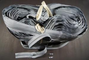 Bild 1 Reißverschluss endlos Grau