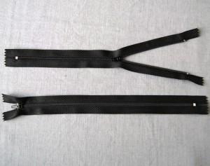 Bild 1 Reißverschluss 25 cm lang Schwarz