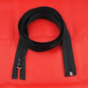 Bild 1 Reißverschluss 200 cm lang Schwarz