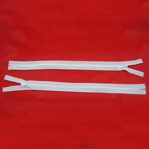 Bild 1 Reißverschluss nahtverdeckt 30 cm lang Weiß