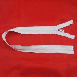 Bild 1 Reißverschluss 60 cm lang Weiß