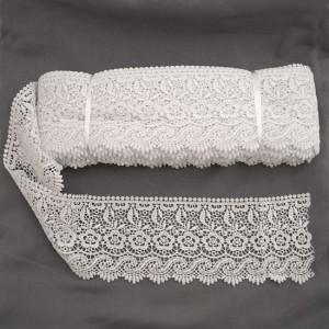 Bild 1 Guipure Weiß 10 cm breit Nr. 20