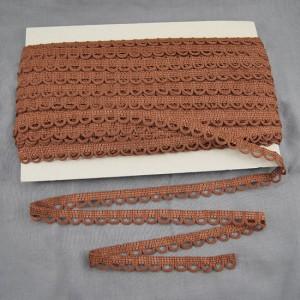 Bild 1 Corsagenband Braun 15 mm breit