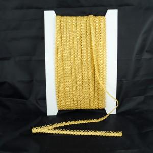Bild 1 Corsagenband Gold 10 mm breit