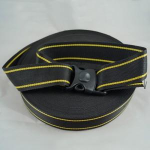 Bild 1 Gurtband Taschengurt Schwarz  mit Faden 50 mm breit