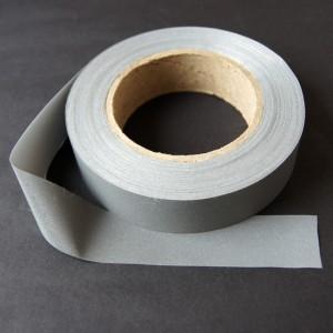 Bild 1 Reflektorband Leuchtband Silber 30 mm breit