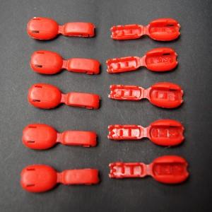 Bild 1 Kordelenden Rot