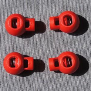 Bild 1 Kordelstopper Rot
