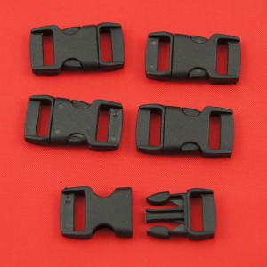 Bild 1 Gurtband - Steckschließer Schwarz 10 mm breit