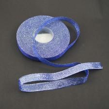 Bild 1 Lurexborte Blau 12 mm breit
