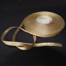 Bild 1 Lurexborte Gold 6 mm breit
