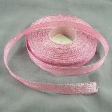 Bild 1 Lurexborte Rosa 12 mm breit