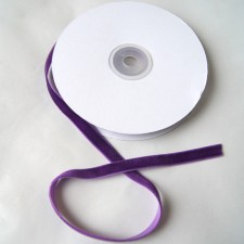 Bild 1 Samtborte Lila 9 mm breit