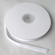 Bild 1 Samtborte Weiß 9 mm breit