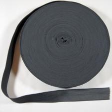 Bild 1 Gummiband Dunkelgrau 25 mm breit
