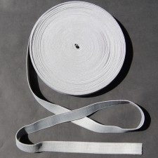 Bild 1 Gummiband Hellgrau 20 mm breit