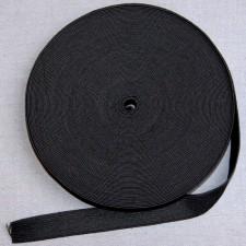 Bild 1 Gummiband Schwarz 20 mm breit