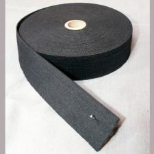 Bild 1 Gummiband Schwarz 30 mm breit