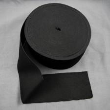 Bild 1 Gummiband Schwarz 80 mm breit