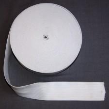 Bild 1 Gummiband Weiß 50 mm breit