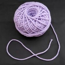 Bild 1 Kordel Baumwolle Lila 3 mm