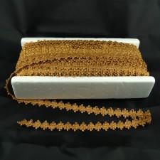 Bild 1 Posamentenborte Gold glitzernd 20 mm breit
