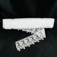 Bild 1 Guipure Weiß 5,5 cm breit Nr. 4