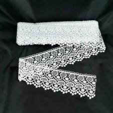 Bild 1 Guipure Weiß 7 cm breit Nr. 5