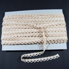 Bild 1 Corsagenband Beige 15 mm breit