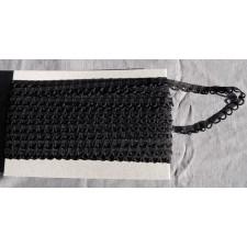 Bild 1 Corsagenband Schwarz 15 mm breit