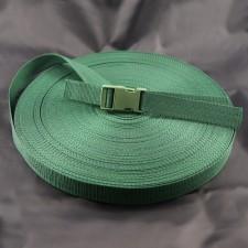 Bild 1 Gurtband Taschengurt Grün 25 mm breit
